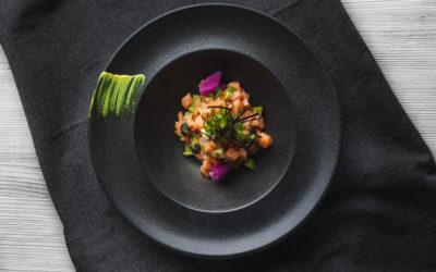 Tartar De Salmon Con Codium