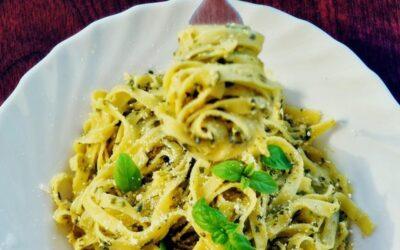 Espagueti De Mar Pesto