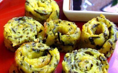 Rollitos De Patata Con Algas