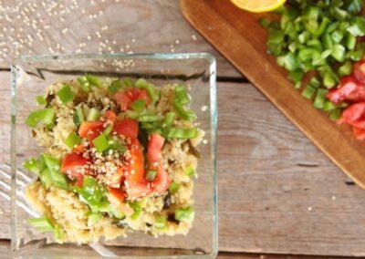 Quinoa Al Kombu