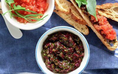 Tartar De Algas Con Tomate